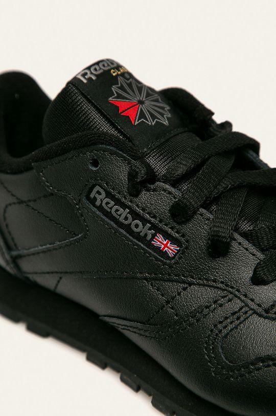 černá Reebok Classic - Dětské boty Classic Leather