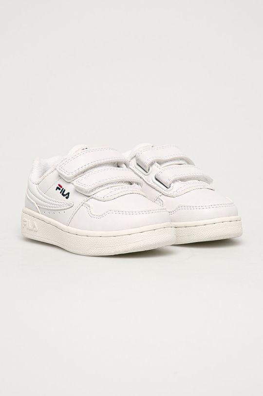 Fila - Buty dziecięce Arcade Velcro Infants biały