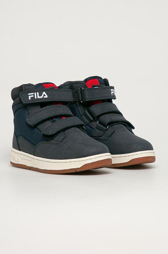 Fila - Buty dziecięce Knox Velcro granatowy