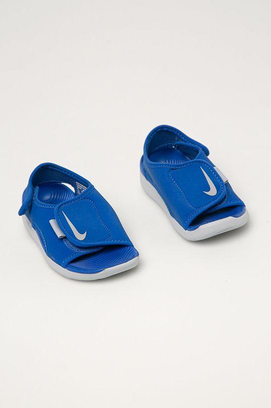 Nike Kids - Sandały dziecięce Sunray Adjust 5 V2 niebieski