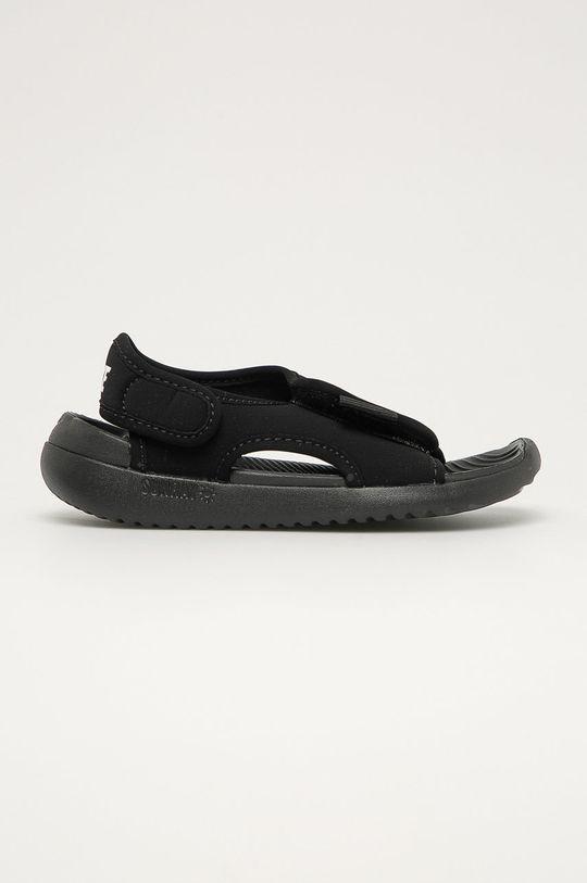 čierna Nike Kids - Detské sandále Sunray Adjust 5 V2 Detský