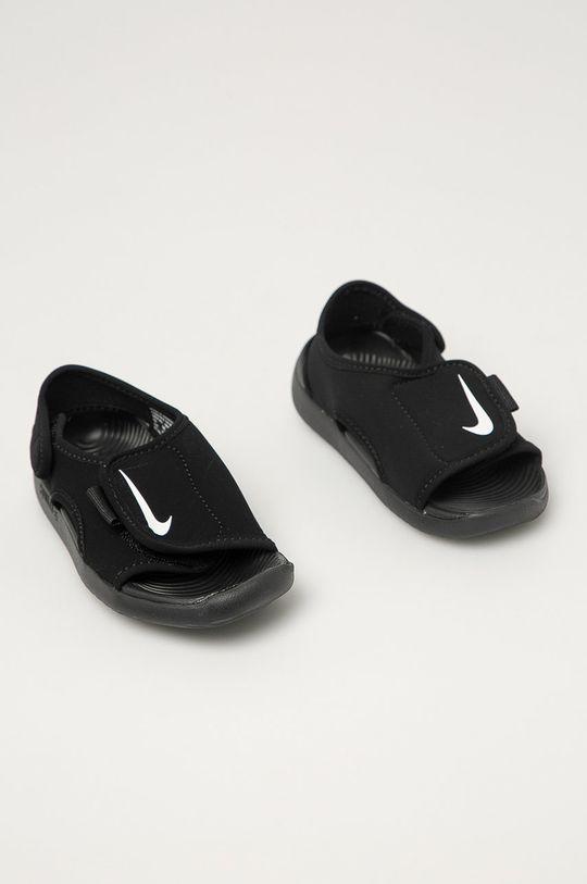 Nike Kids - Detské sandále Sunray Adjust 5 V2 čierna