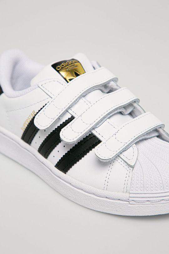 adidas Originals - Detské kožené topánky Superstar Detský