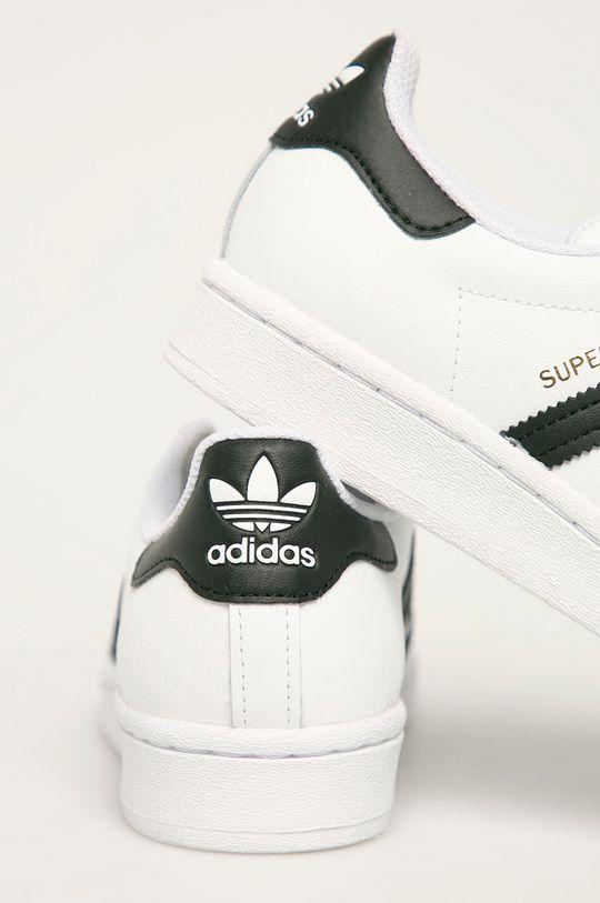 adidas Originals - Buty dziecięce Superstar Cholewka: Materiał syntetyczny, Skóra naturalna, Wnętrze: Materiał syntetyczny, Podeszwa: Materiał syntetyczny