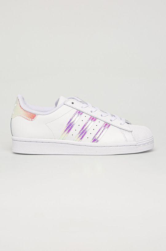 alb adidas Originals - Pantofi copii Superstar De copii