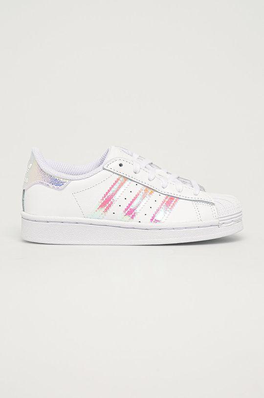 bílá adidas Originals - Dětské boty Superstar C Dětský