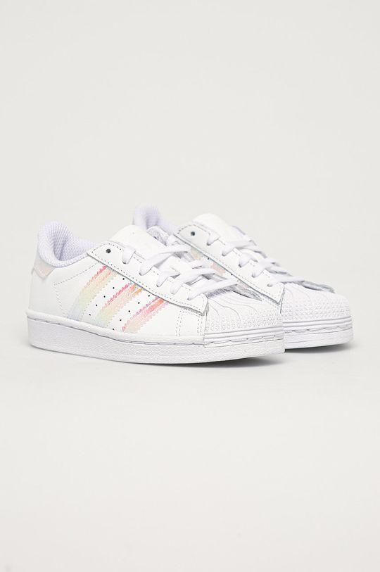 adidas Originals - Dětské boty Superstar C bílá