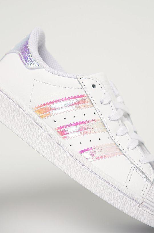 adidas Originals - Dětské boty Superstar C  Svršek: Umělá hmota, Přírodní kůže Vnitřek: Textilní materiál Podrážka: Umělá hmota
