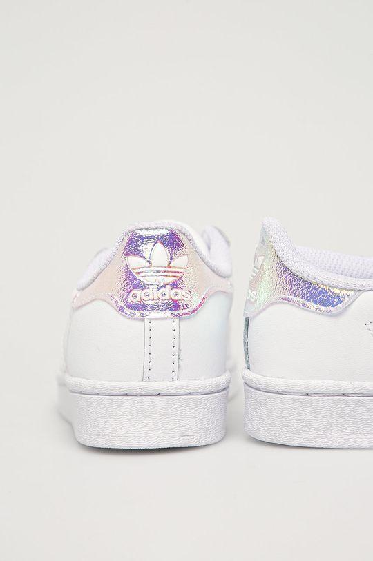 bílá adidas Originals - Dětské boty Superstar C