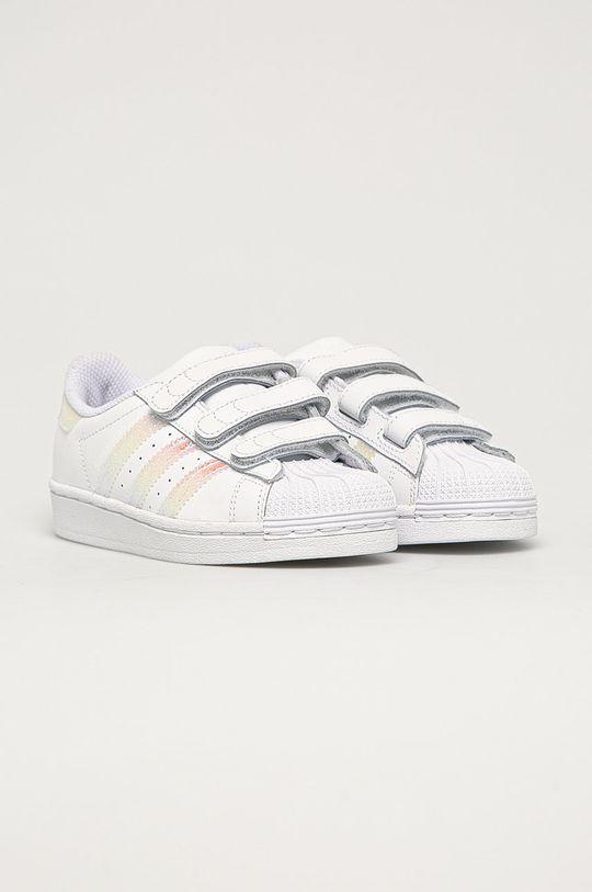 adidas Originals - Pantofi copii Superstar CF alb