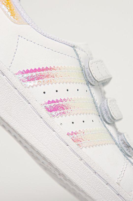adidas Originals - Pantofi copii Superstar CF  Gamba: Material sintetic, Piele naturala Interiorul: Material textil, Piele naturala Talpa: Material sintetic