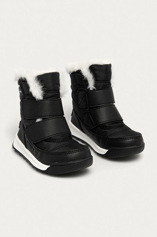 Sorel - Cizme de iarna copii Whitney negru