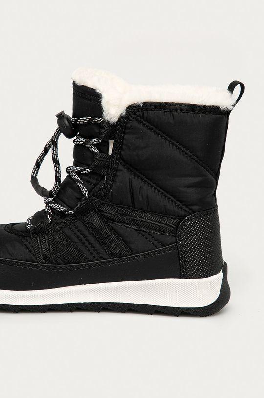 czarny Sorel - Śniegowce dziecięce Youth Whitney II