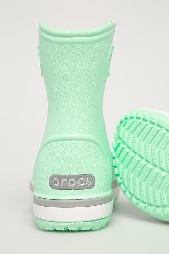 zielony Crocs - Kalosze dziecięce