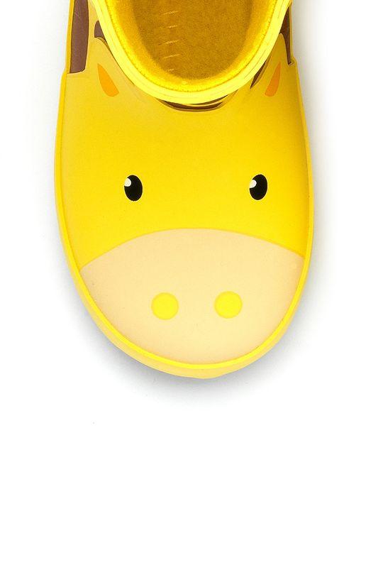 żółty Chipmunks - Kalosze dziecięce Gabe