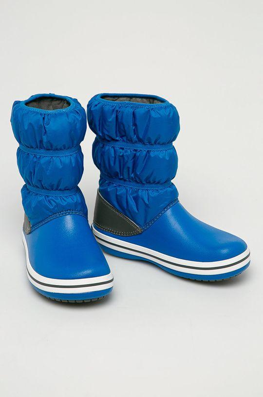 Crocs - Detské snehule modrá