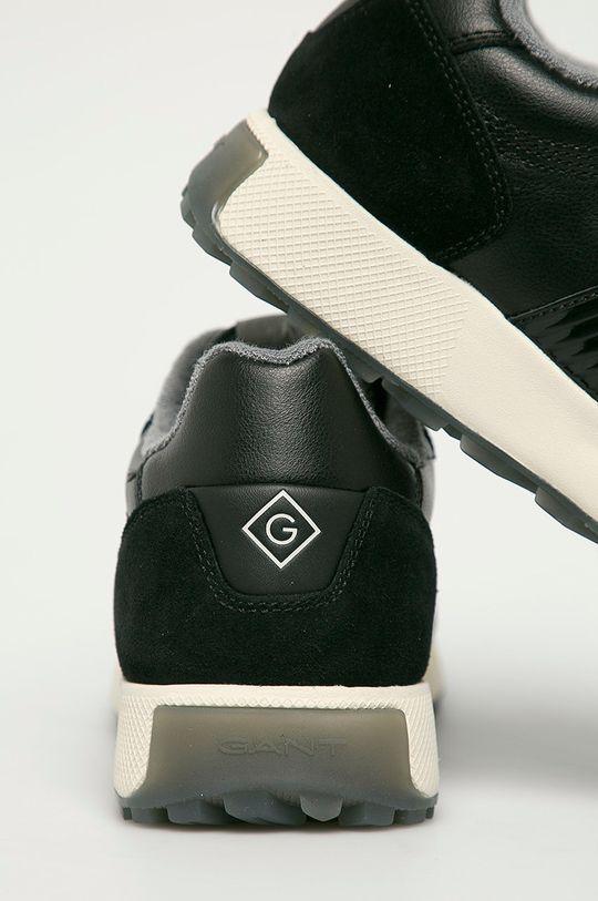 Gant - Buty skórzane Garold Cholewka: Skóra naturalna, Skóra zamszowa, Wnętrze: Materiał tekstylny, Podeszwa: Materiał syntetyczny