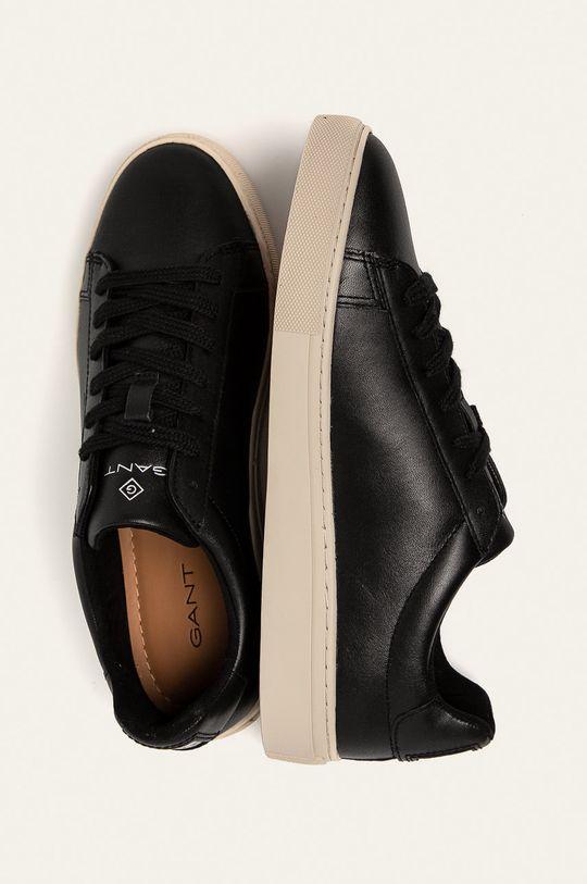 czarny Gant - Buty skórzane Mc Julien