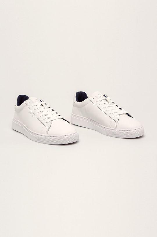 Gant - Buty skórzane Mc Julien biały
