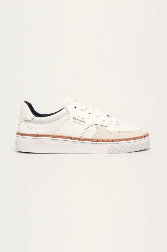 biały Gant - Buty skórzane Mc Julien Męski