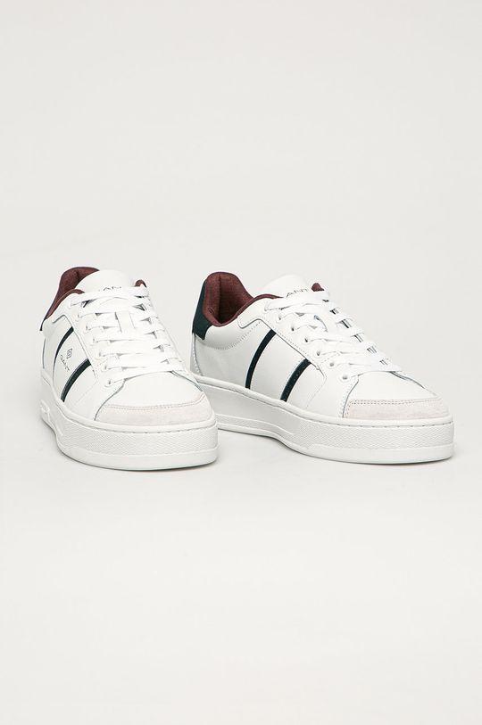 Gant - Buty skórzane Saint-Bro biały