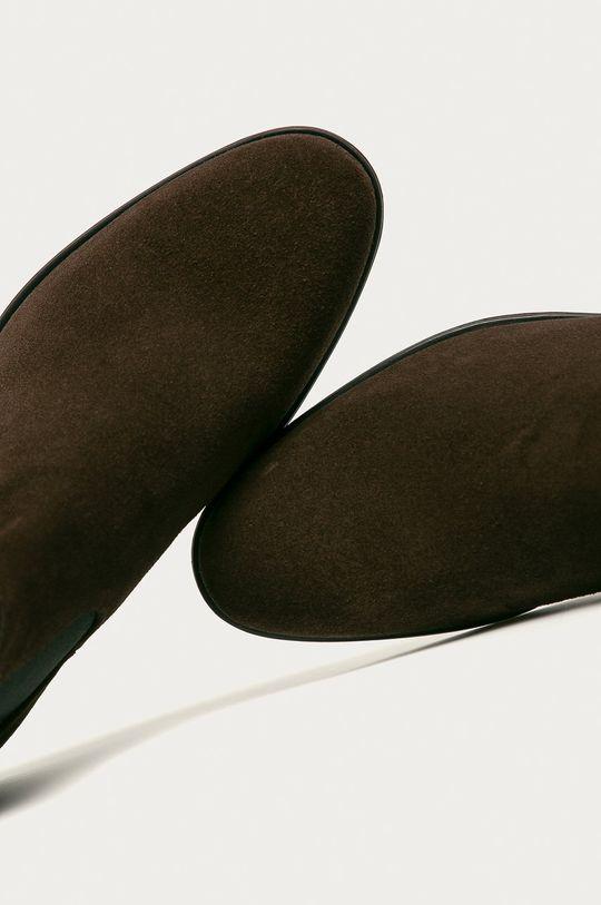ciemny brązowy Vagabond - Sztyblety skórzane Harvey
