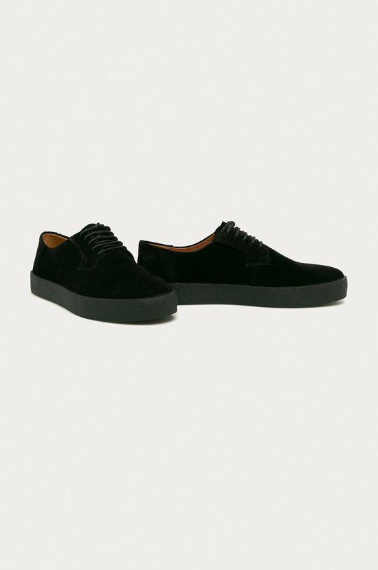 Vagabond - Pantofi de piele Luis negru