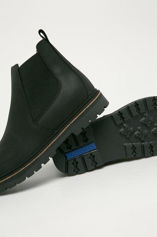 černá Birkenstock - Kožené kotníkové boty Stalon