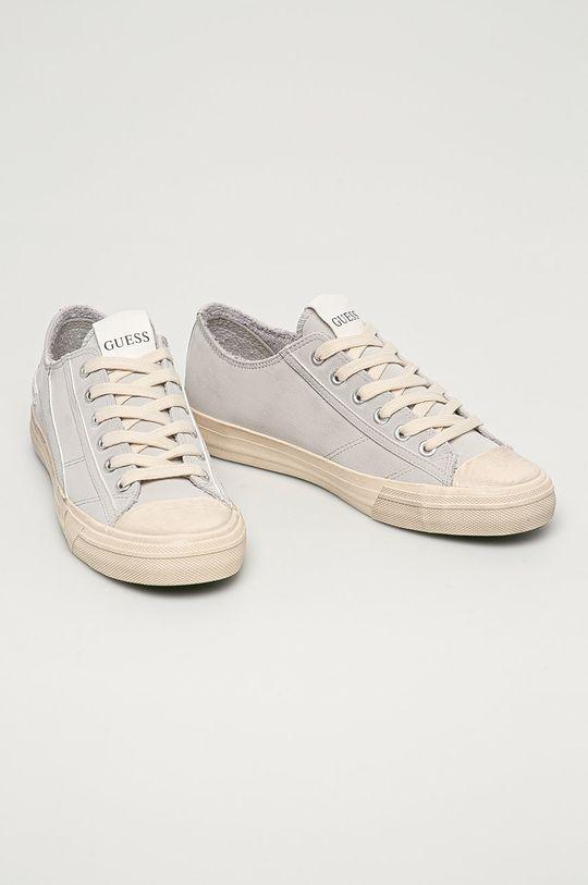 Guess Jeans - Tenisky světle šedá