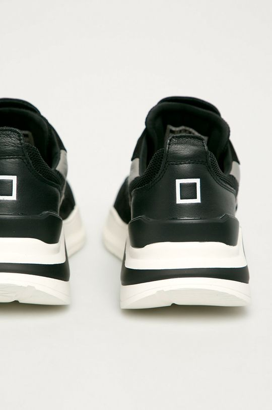 čierna D.A.T.E. - Topánky Fuga