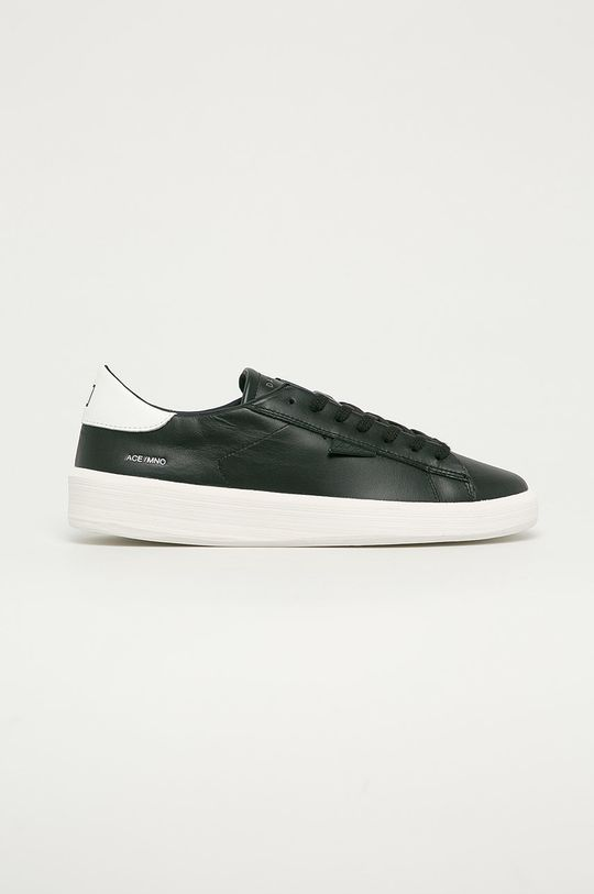 černá D.A.T.E. - Kožené boty Ace Mono Pánský