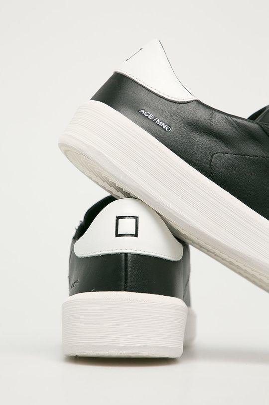D.A.T.E. - Kožené boty Ace Mono  Svršek: Přírodní kůže Vnitřek: Textilní materiál, Přírodní kůže Podrážka: Umělá hmota