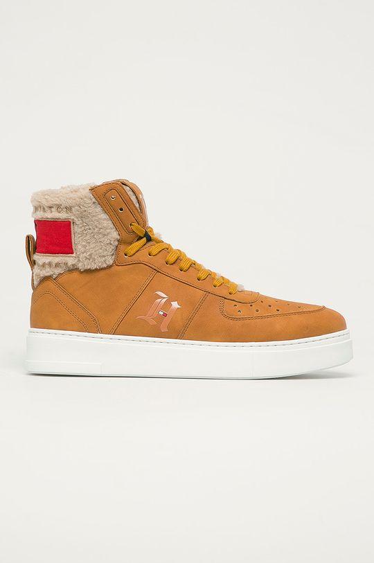 maro auriu Tommy Hilfiger - Pantofi De bărbați