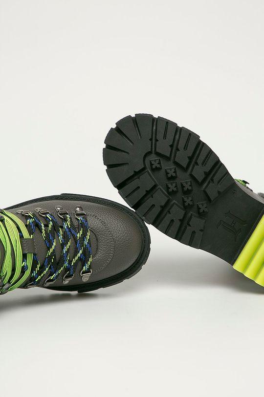 sivá Tommy Hilfiger - Členkové topánky x Lewis Hamilton