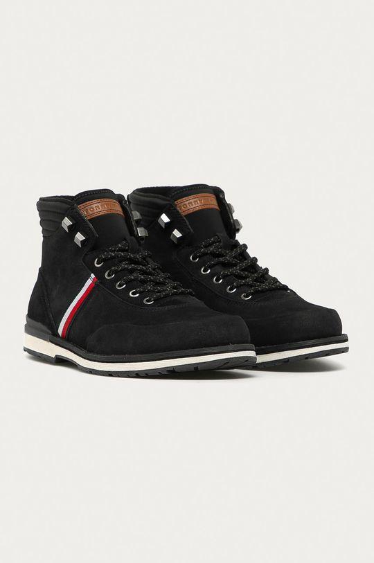 Tommy Hilfiger - Kotníkové boty černá