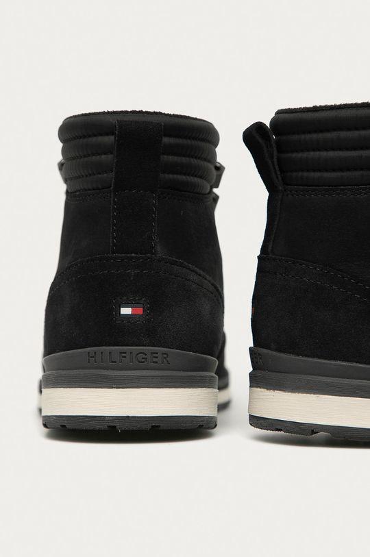 Tommy Hilfiger - Kotníkové boty  Svršek: Textilní materiál, Semišová kůže Vnitřek: Textilní materiál Podrážka: Umělá hmota