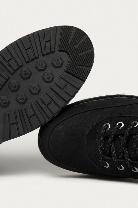 černá Tommy Hilfiger - Kotníkové boty