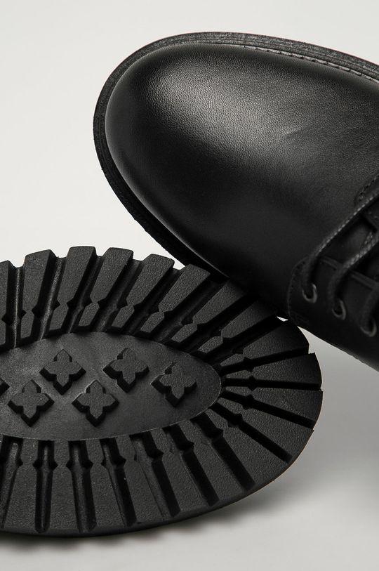 negru Tommy Hilfiger - Pantofi de piele
