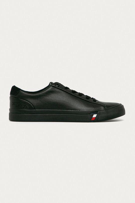 чёрный Tommy Hilfiger - Кожаные ботинки Мужской
