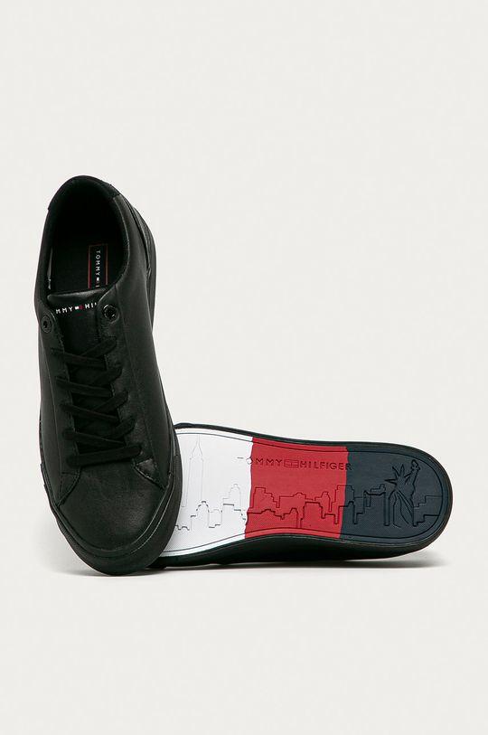 чёрный Tommy Hilfiger - Кожаные ботинки