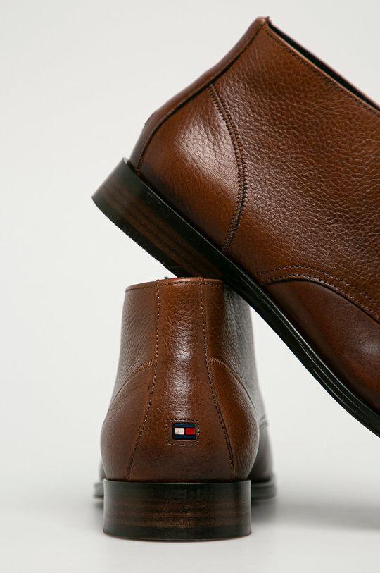 Tommy Hilfiger - Kožená obuv  Zvršok: Prírodná koža Vnútro: Textil, Prírodná koža Podrážka: Syntetická látka