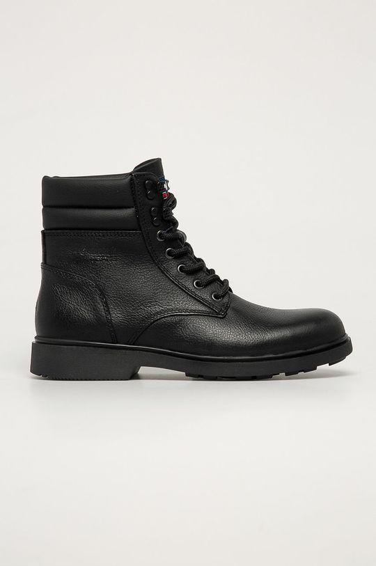 czarny Tommy Jeans - Buty Męski