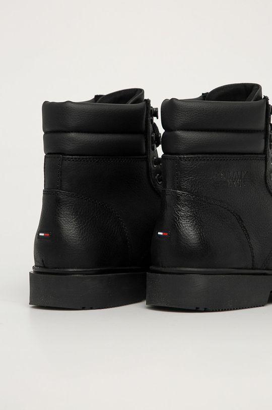 Tommy Jeans - Buty Cholewka: Skóra naturalna, Wnętrze: Materiał syntetyczny, Materiał tekstylny, Skóra naturalna, Podeszwa: Materiał syntetyczny