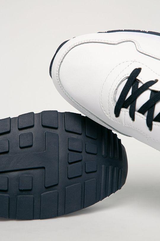biela Tommy Jeans - Kožená obuv