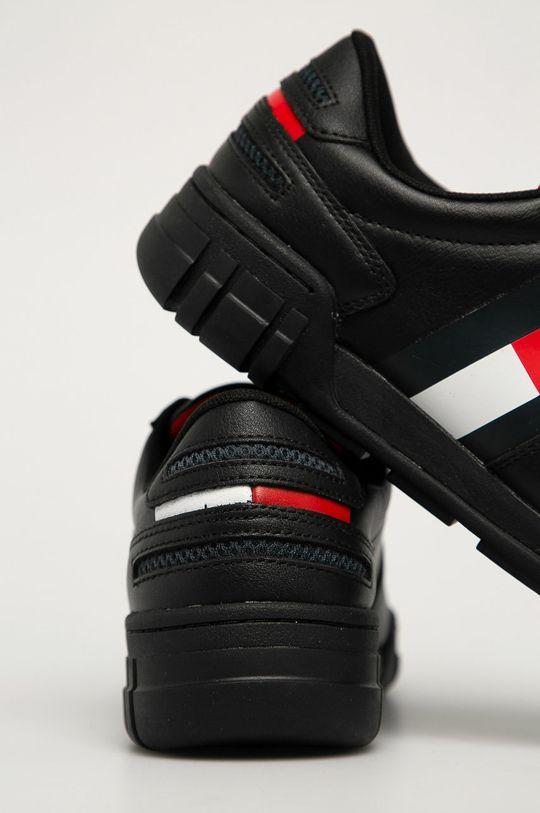 Tommy Jeans - Ghete de piele  Gamba: Material sintetic, Piele naturala Interiorul: Material textil Talpa: Material sintetic