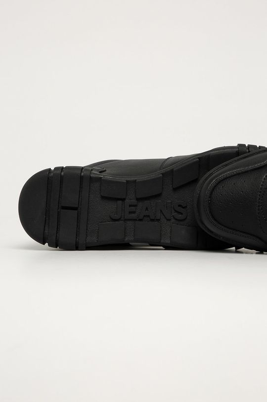 negru Tommy Jeans - Ghete de piele