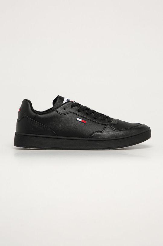 čierna Tommy Jeans - Topánky Pánsky