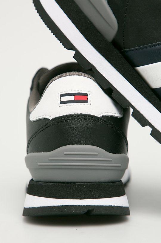 Tommy Jeans - Ghete de piele  Gamba: Piele naturala Interiorul: Material textil Talpa: Material sintetic