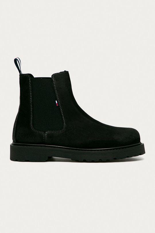 чёрный Tommy Jeans - Замшевые ботинки Мужской