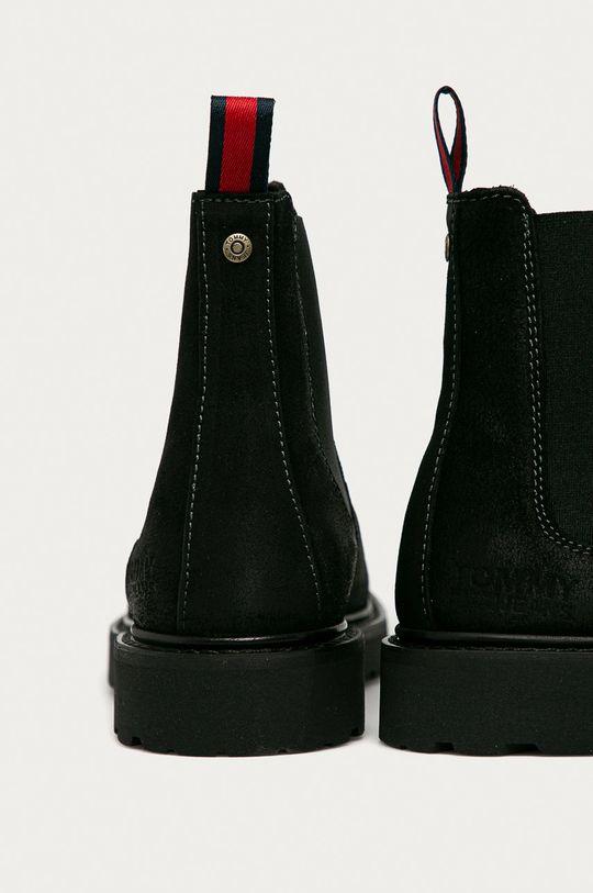 Tommy Jeans - Замшевые ботинки  Голенище: Синтетический материал, Замша Внутренняя часть: Текстильный материал, Натуральная кожа Подошва: Синтетический материал